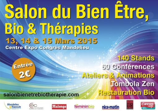 Salon du bien être du 13 au 15 mars 2015